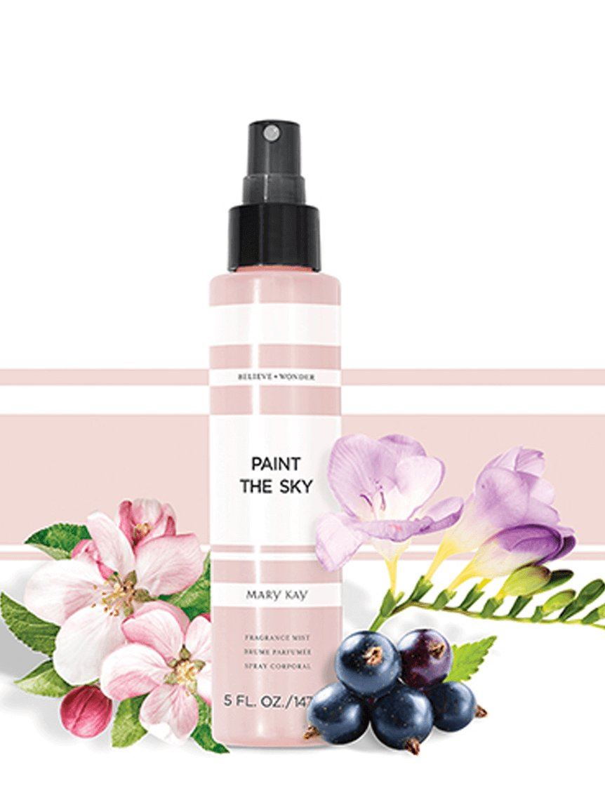 paint the sky frgrance mist mary kay