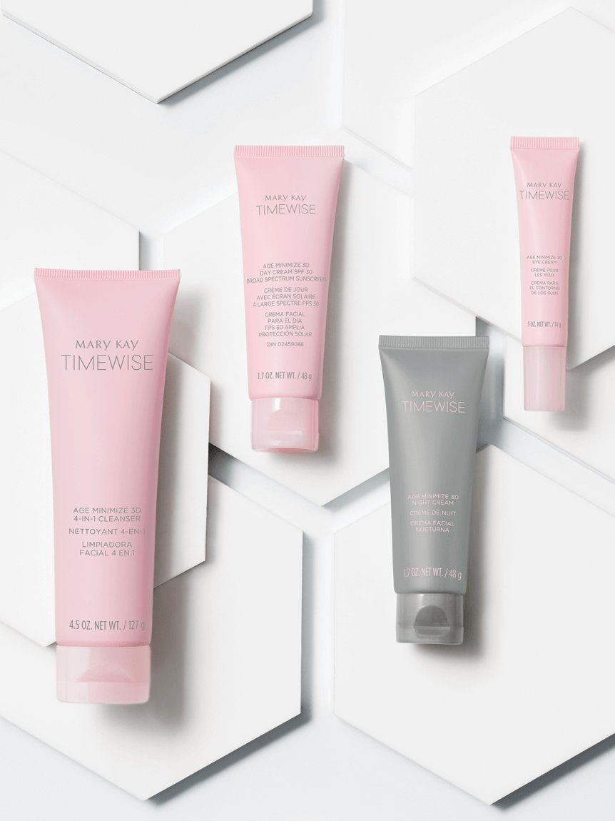 Mary Kay Skin Care :: Timewise :: Miracle Set 3D The Go